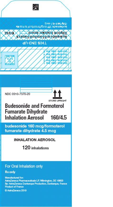 Symbicort AG 160/4.5 mcg 120 inhalations carton