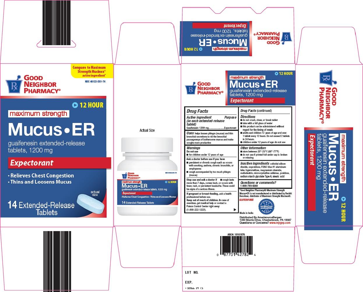 Good Neighbor Pharmacy Mucus - ER image