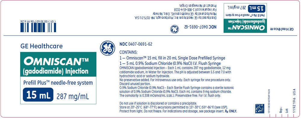 PRINCIPAL DISPLAY PANEL - 15 mL Syringe Box Label