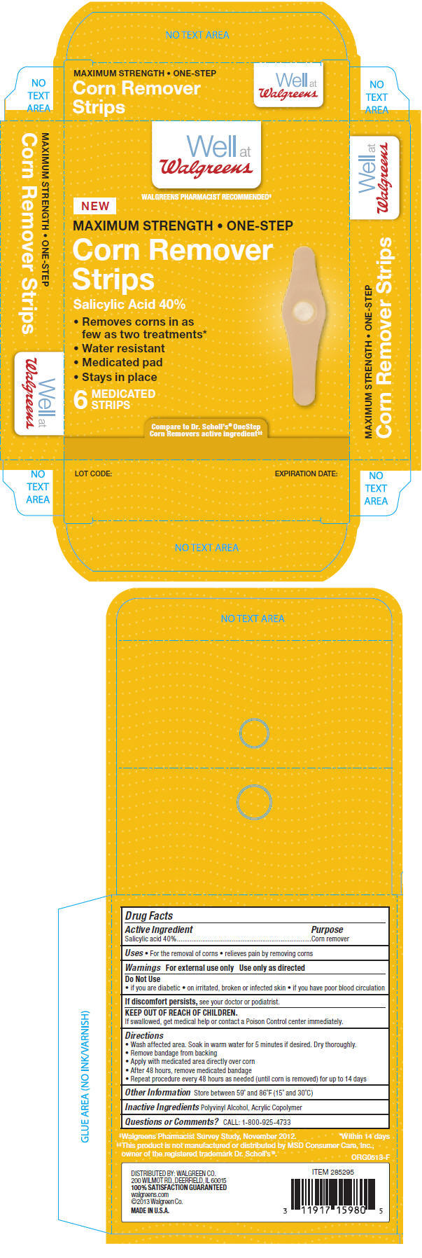Principal Display Panel - 6 Strip Box