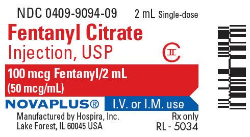 PRINCIPAL DISPLAY PANEL - 2 mL Vial Label