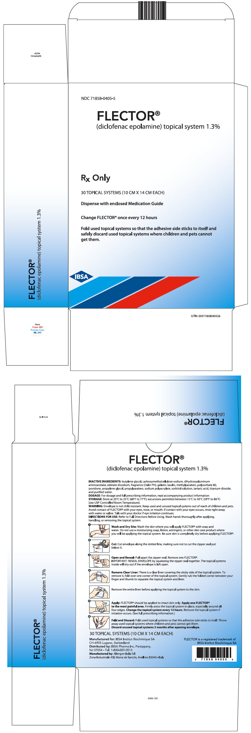 PRINCIPAL DISPLAY PANEL - 30 Patch Pouch Carton