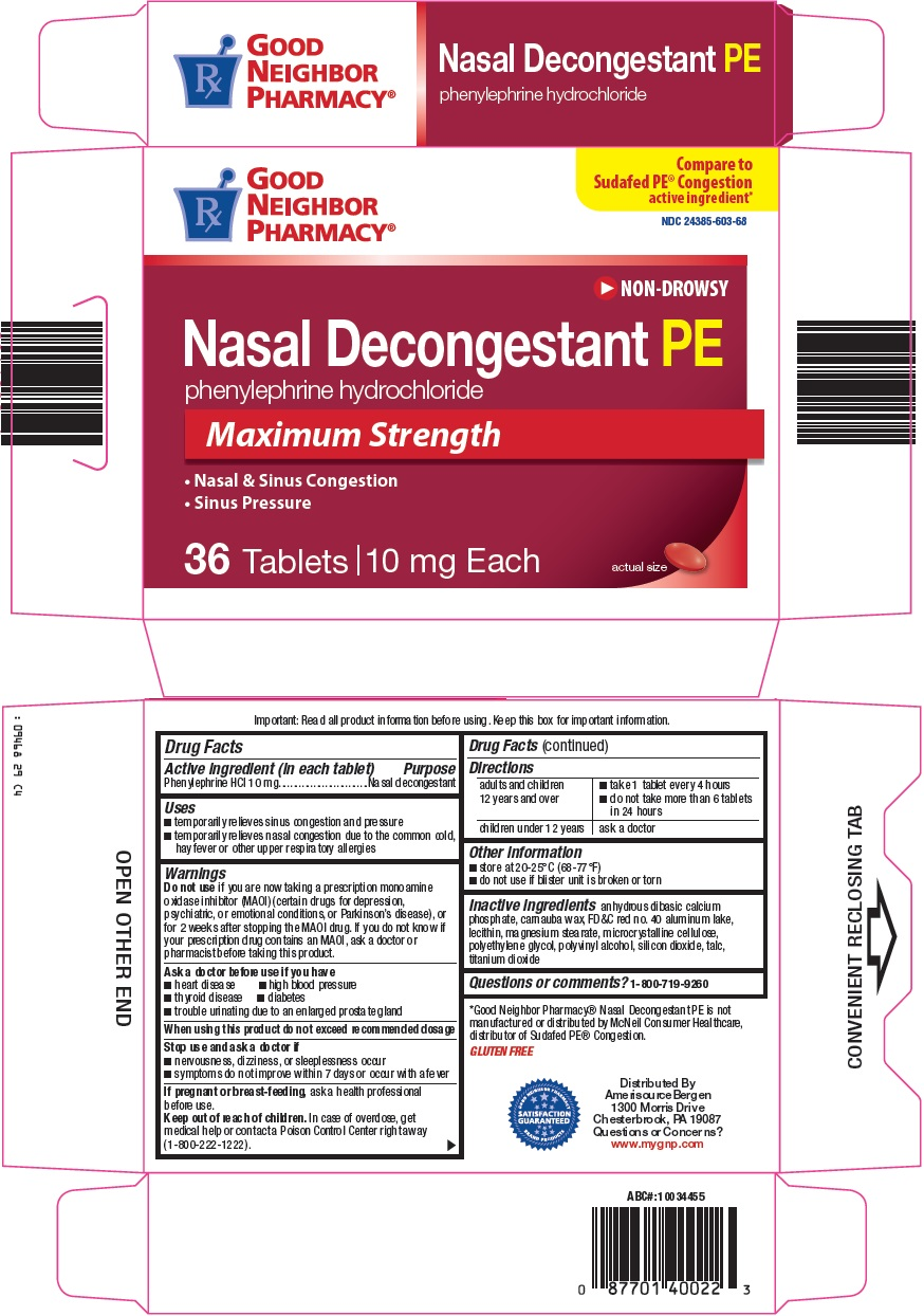 Good Neighbor Pharamcy Nasal Decongestant PE image