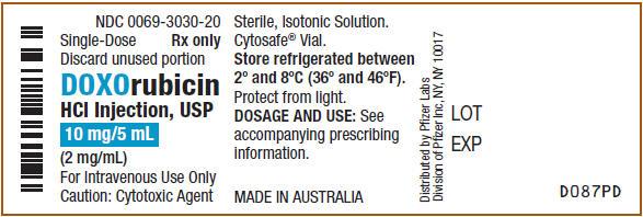 PRINCIPAL DISPLAY PANEL - 10 mg/5 mL Vial Label