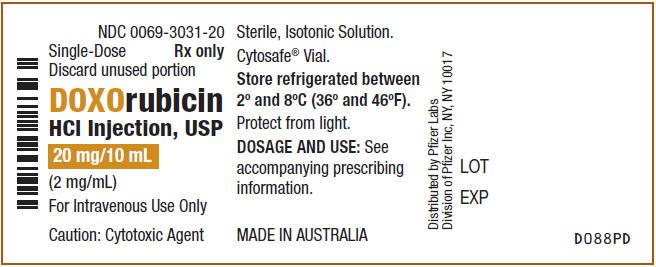 PRINCIPAL DISPLAY PANEL - 20 mg/10 mL Vial Label