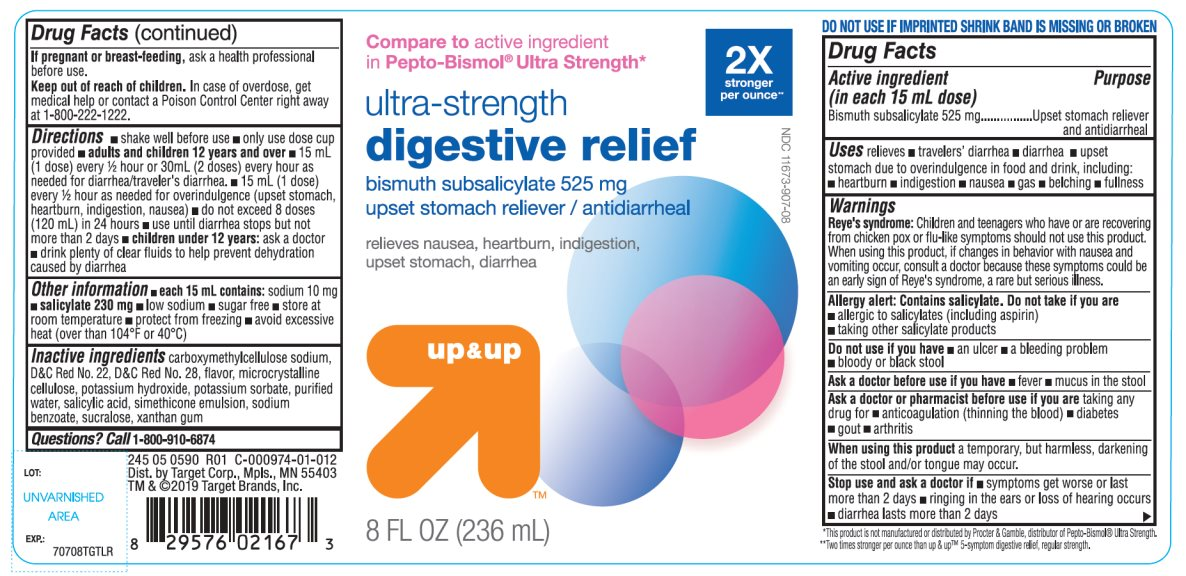 Ultra Strength digestive relief Bismuth Subsalicylate