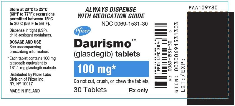 PRINCIPAL DISPLAY PANEL - 100 mg Tablet Bottle Label