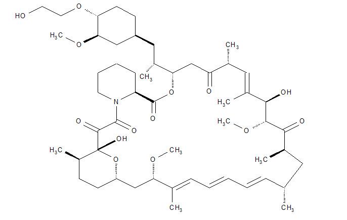 everolimus structural formula