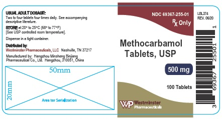 westminster 500mg 100ct label