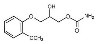 methocarbamol structure