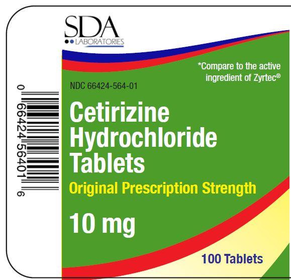 01b LBL_Cetirizine HCl Tablets_10mg_100ct_PDP