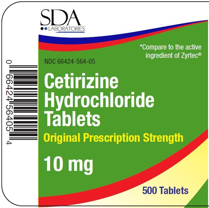 01b LBL_Cetirizine HCl Tablets_10mg_500ct_PDP