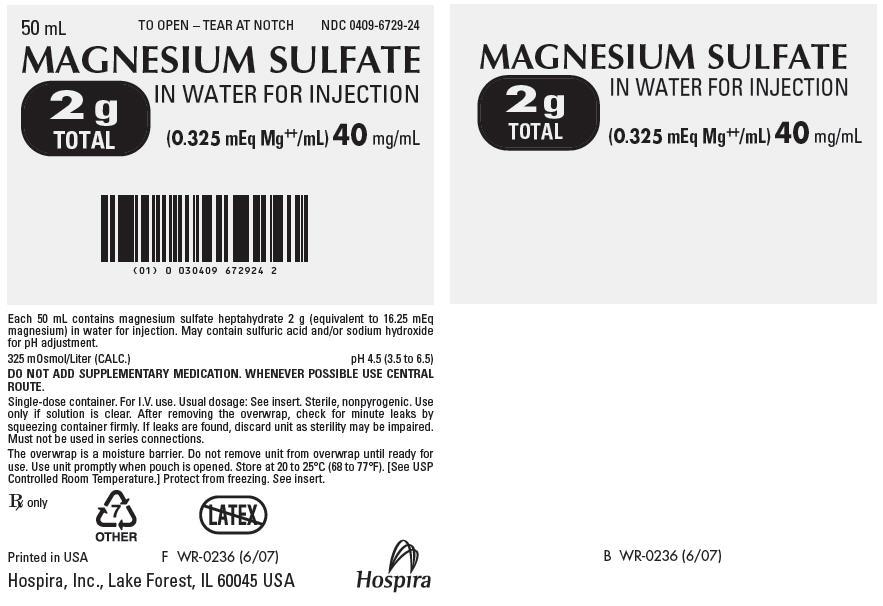 PRINCIPAL DISPLAY PANEL - 40 mg/mL Bag Pouch Label