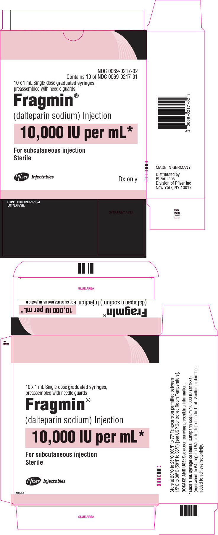 PRINCIPAL DISPLAY PANEL - 1 mL Syringe Carton