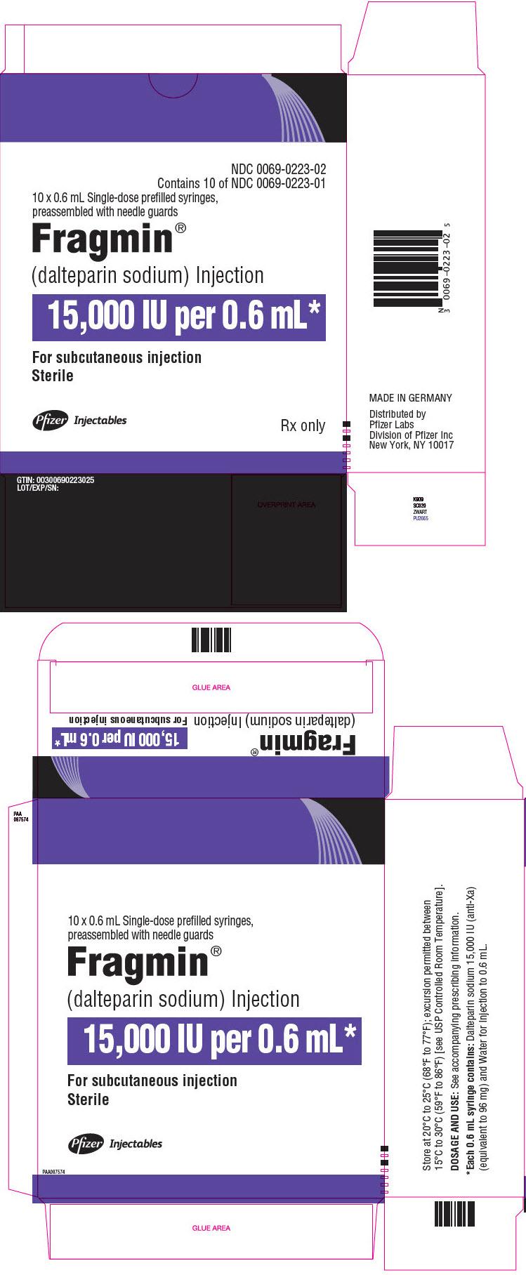 PRINCIPAL DISPLAY PANEL - 0.6 mL Syringe Carton