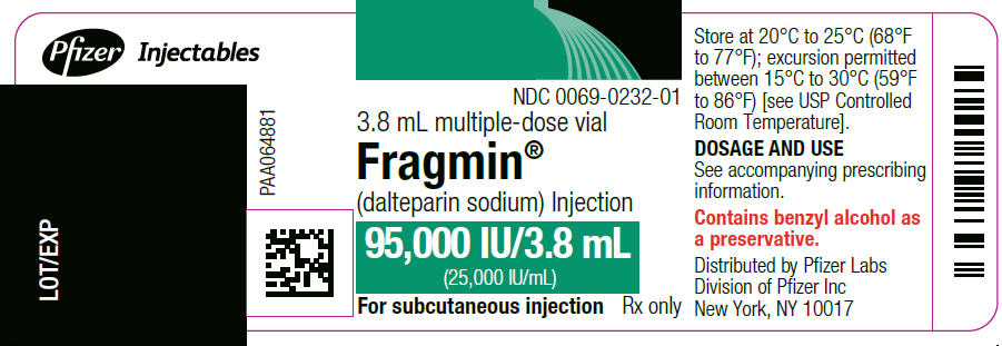 PRINCIPAL DISPLAY PANEL - 95,000 IU Vial Label