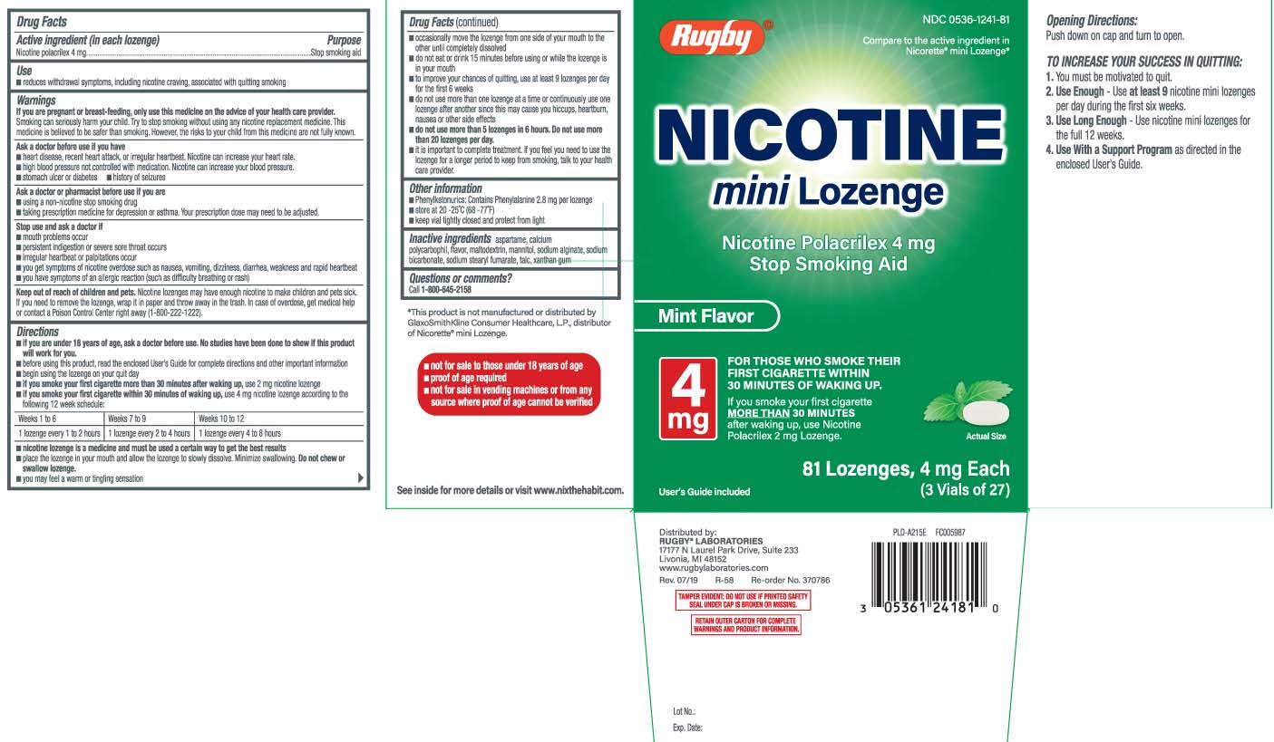 Nicotine Polacrilex 4 mg