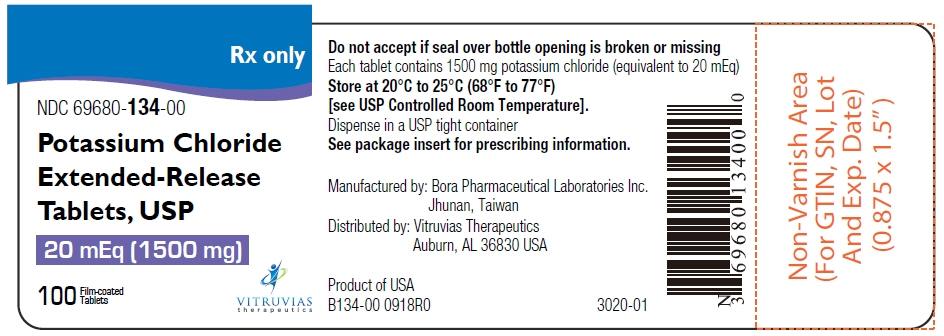 PRINCIPAL DISPLAY PANEL - 750 mg Tablet Bottle Label - 69680-133-92