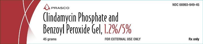Clindamycin Phosphate and BPO Gel Prasco 45g carton