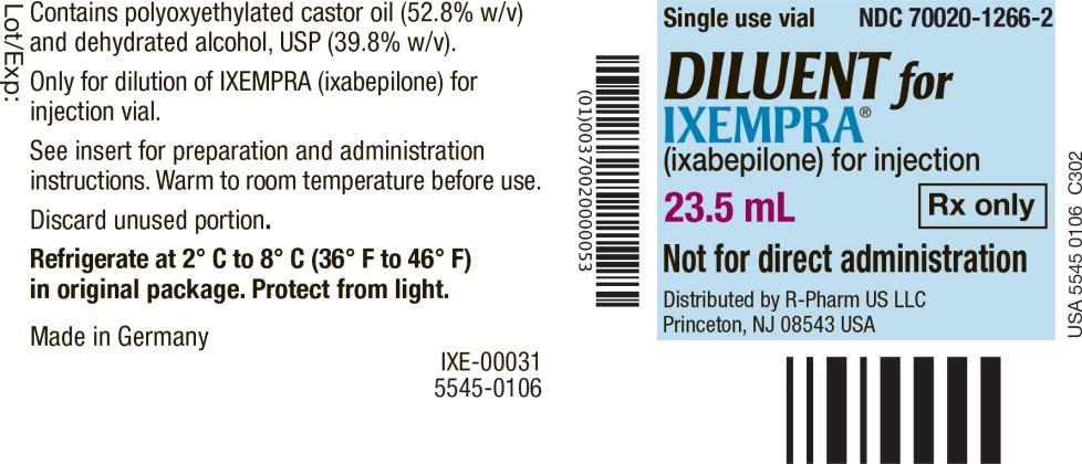 Principal Display Panel - Vial Label