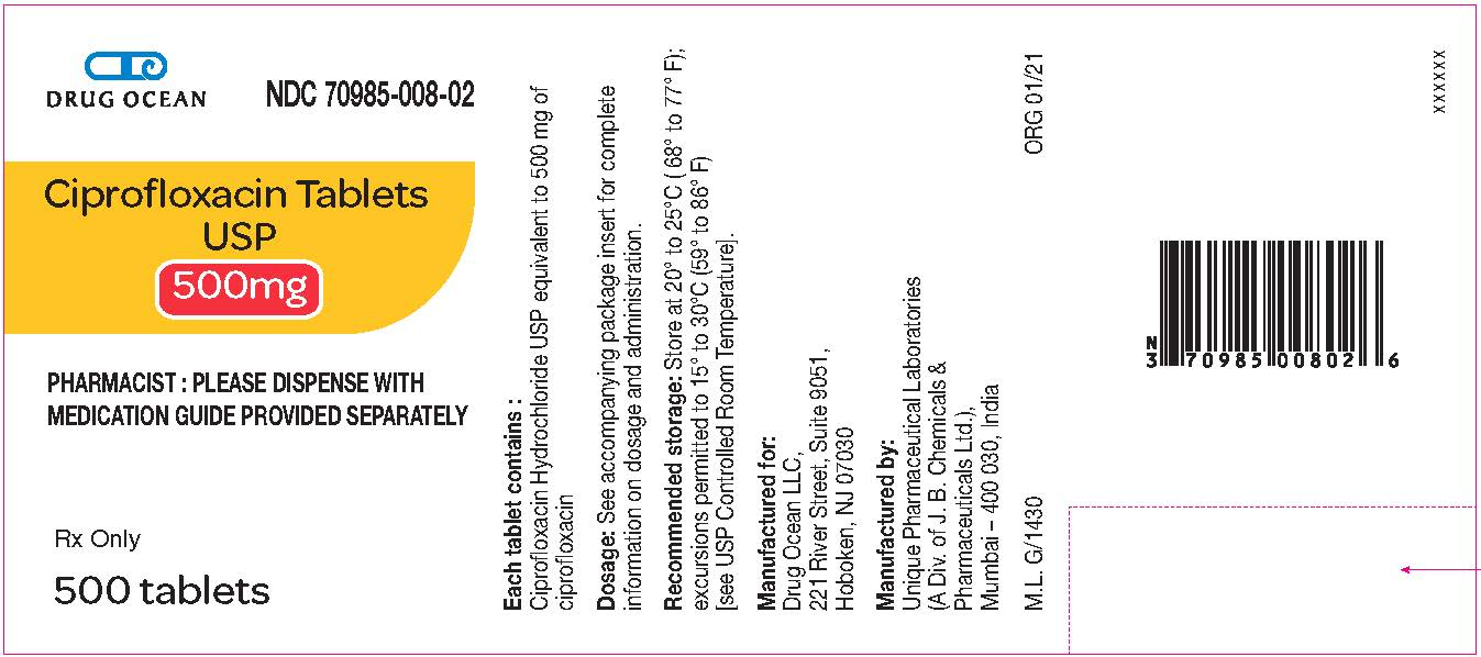 500 mg (500 Tablet Bottle)