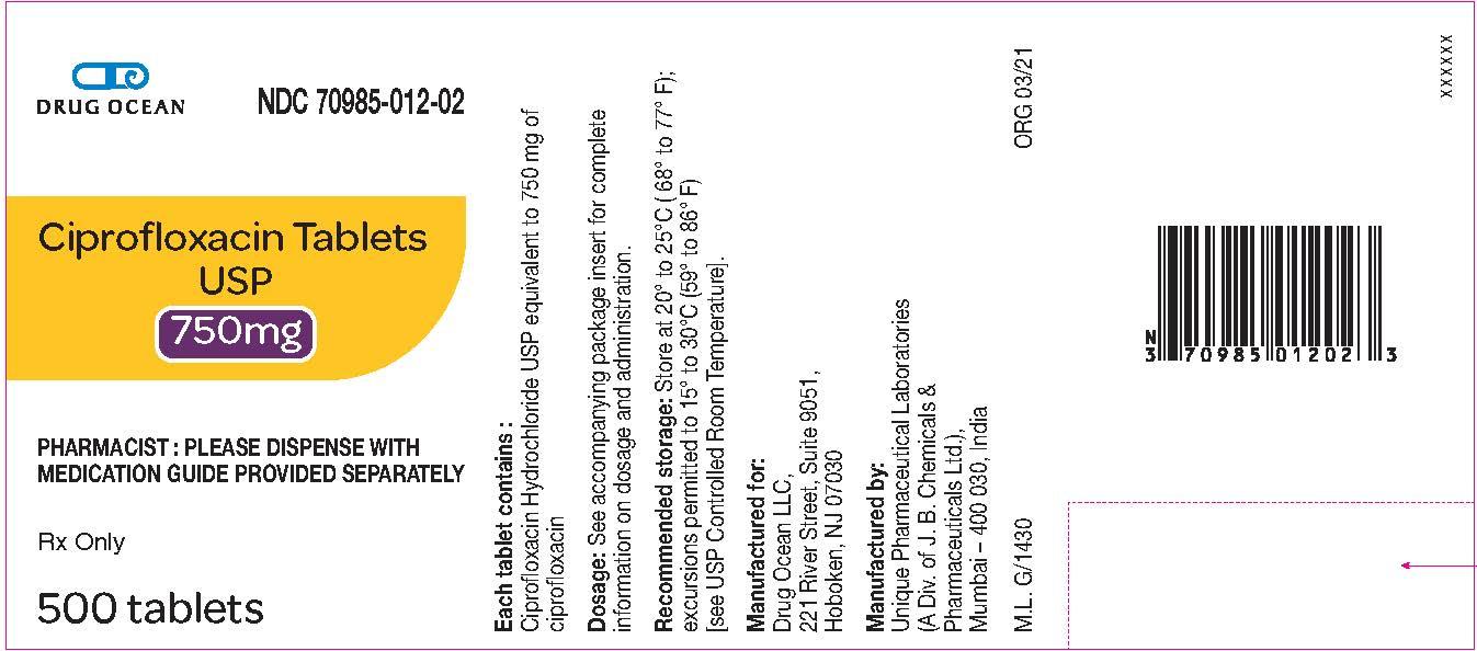750 mg (500 Tablet Bottle)