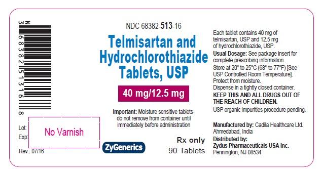 Telmisartan HCTZ Tablet