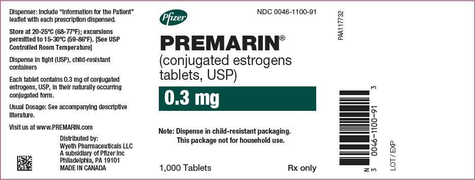PRINCIPAL DISPLAY PANEL - 0.3 mg Tablet Bottle Label