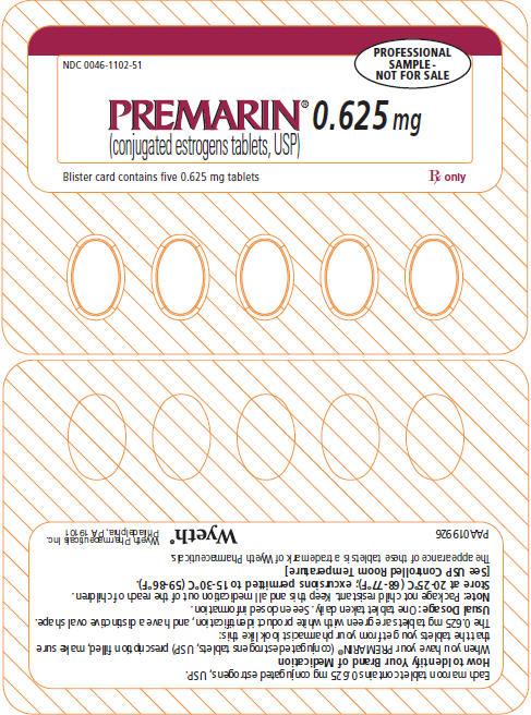 PRINCIPAL DISPLAY PANEL - 0.625 MG - BLISTER CARD