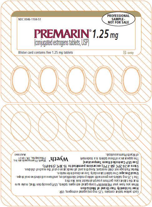 PRINCIPAL DISPLAY PANEL - 1.25 MG – BLISTER CARD