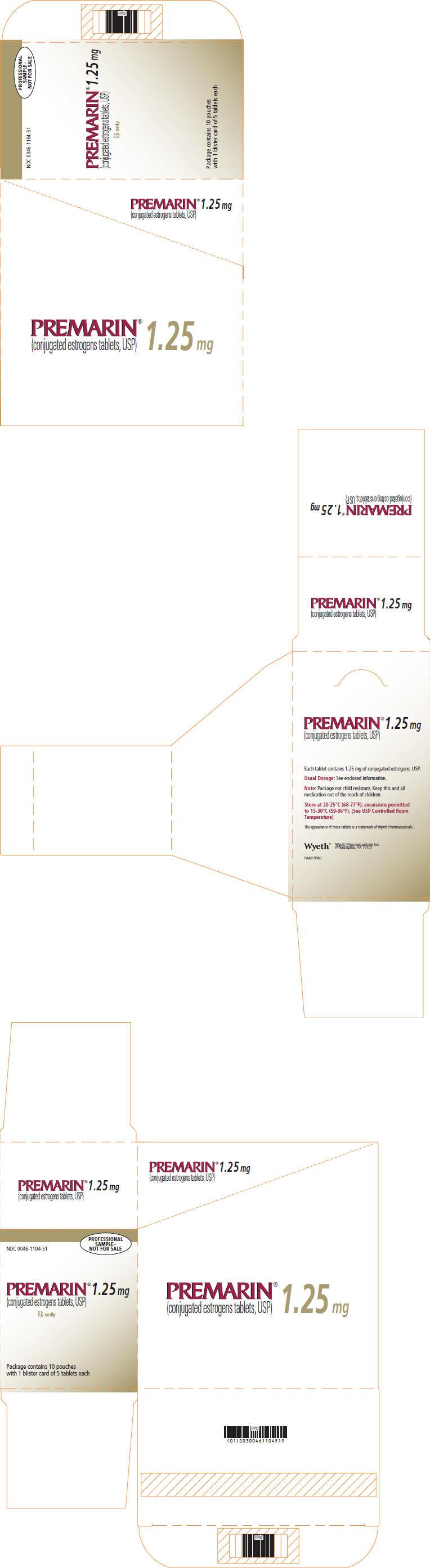 PRINCIPAL DISPLAY PANEL - 1.25 MG - CARTON