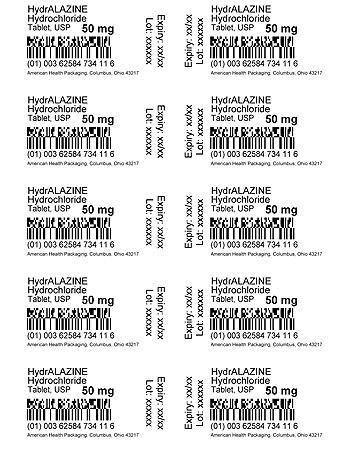 Hydralazine Hydrochloride Tablet 50 mg Card Print