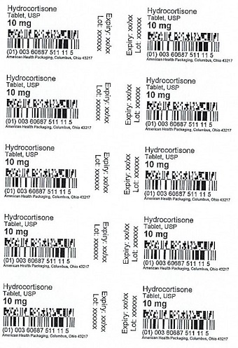 10 mg Hydrocortisone Tablet Blister