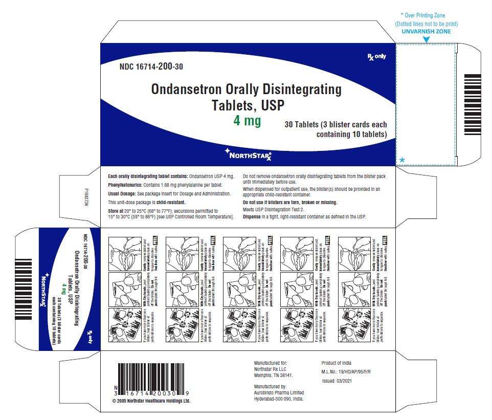 PACKAGE LABEL-PRINCIPAL DISPLAY PANEL - 4 mg Blister Carton (3 x 10 Unit-dose)