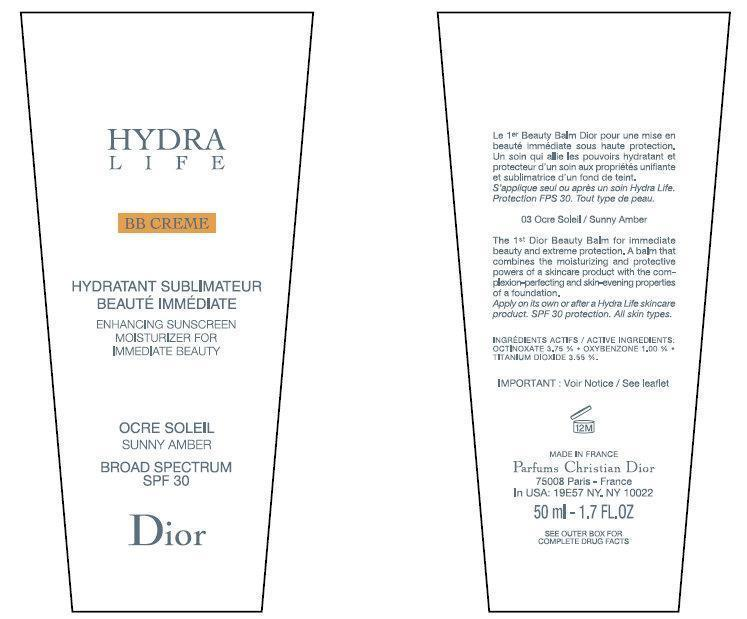 Hydra Life Sunny Amber Inner Label