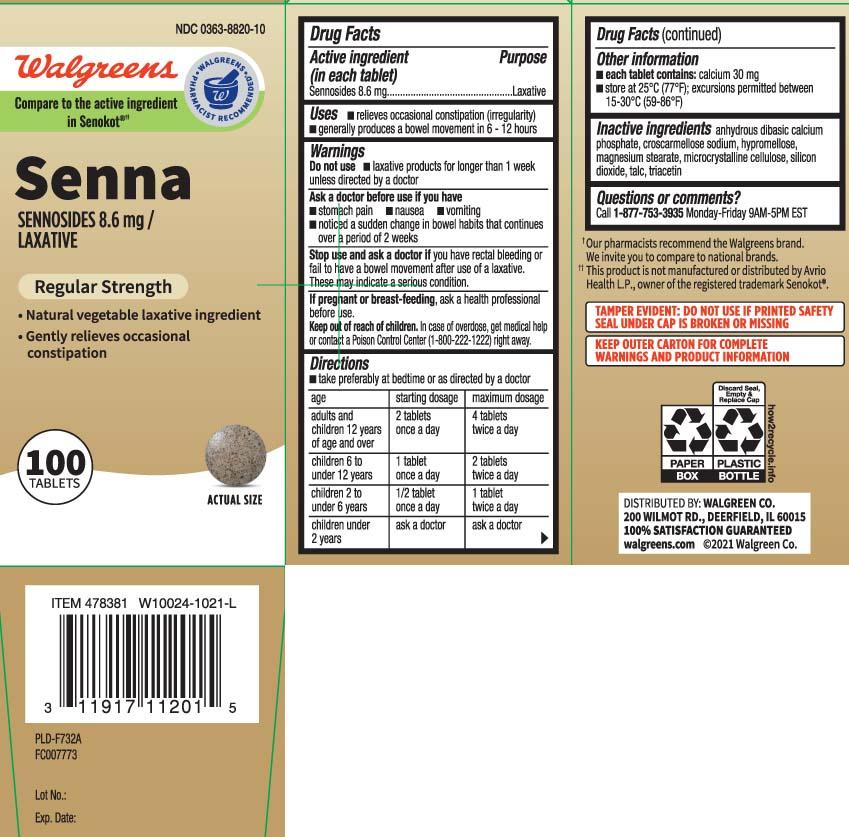 Sennosides 8.6 mg