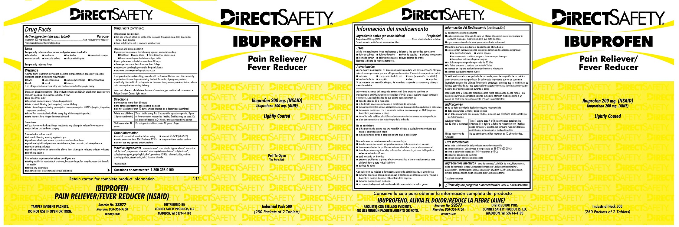 Direct safety Ibuprofen