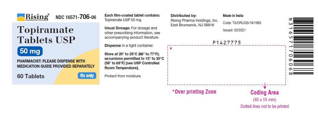 PACKAGE LABEL-PRINCIPAL DISPLAY PANEL - 50 mg (60 Tablets Bottle)
