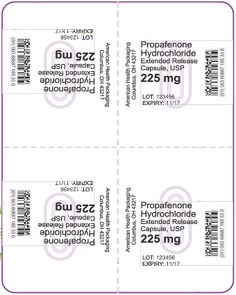 225 mg Propafenone HCl ER Capsule Blister