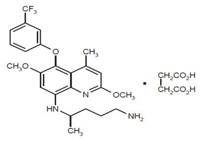 Figure 1: Tafenoquine Succinate Structure