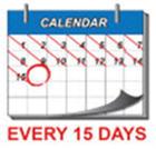 Replace inhaler every 15 days