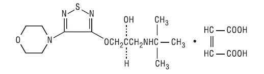 chemical structure_timolol