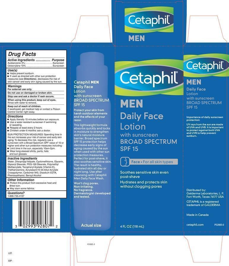Cetaphil Men Daily Facial Moisturizer SPF 15 Carton