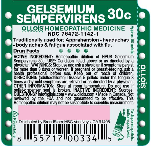 Gelsemium Sempervirens 30c