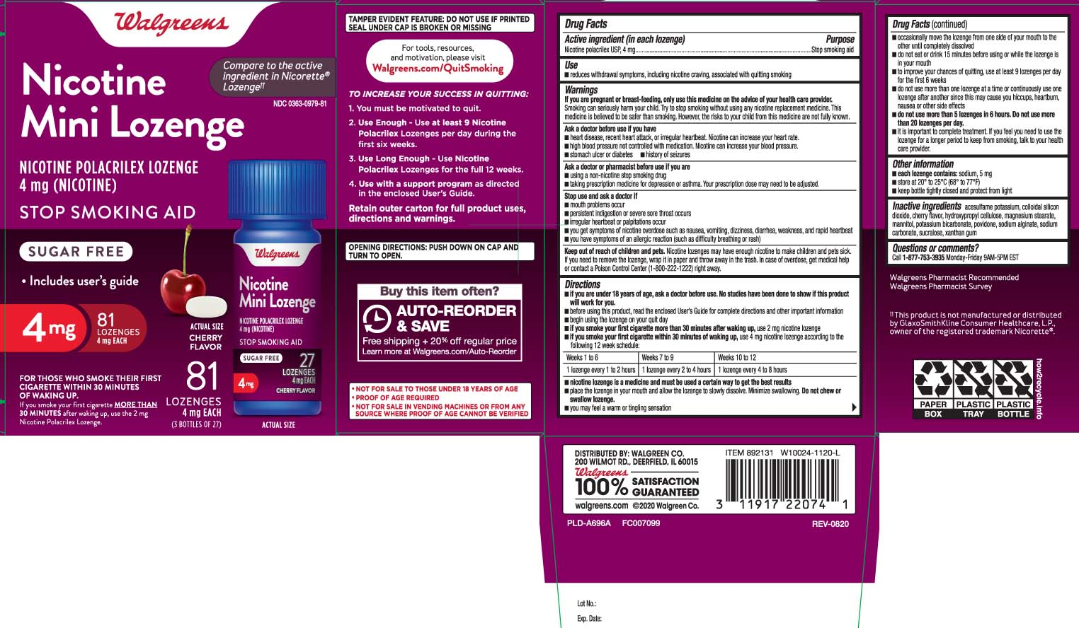 Nicotine Polacrilex USP 4 mg