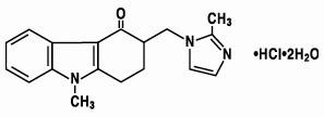 ondansetron hydrochloride chemical structure