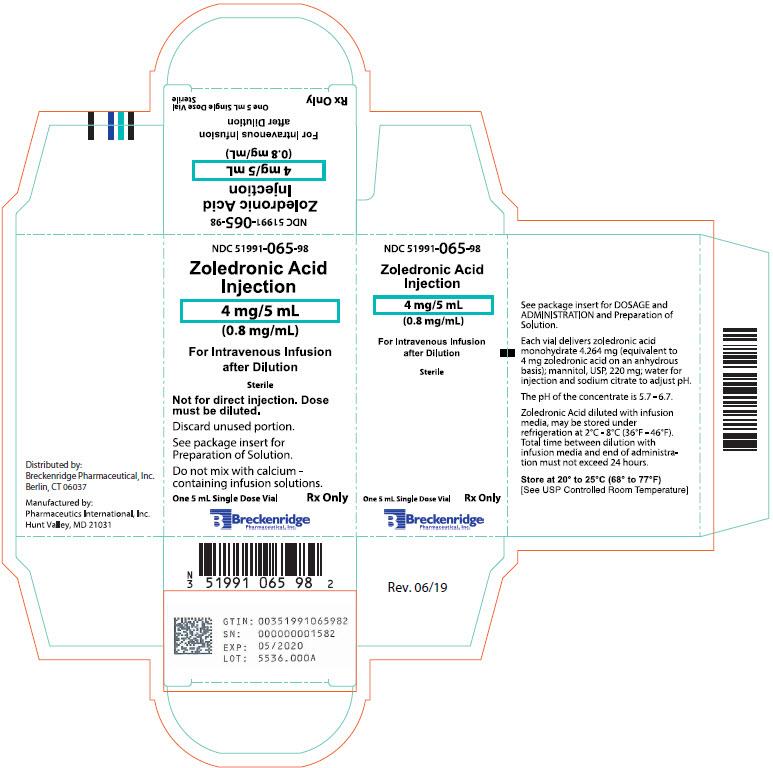 PRINCIPAL DISPLAY PANEL - 5 mL Vial Carton