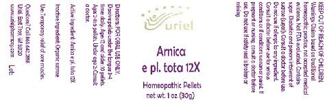 ArnicaEPlTota12Pellets