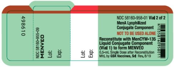 Menveo MenA vial label