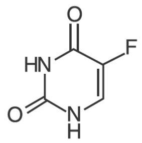 Fluorouracil Structural Formula